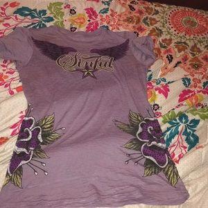 Purple Sinful T-Shirt